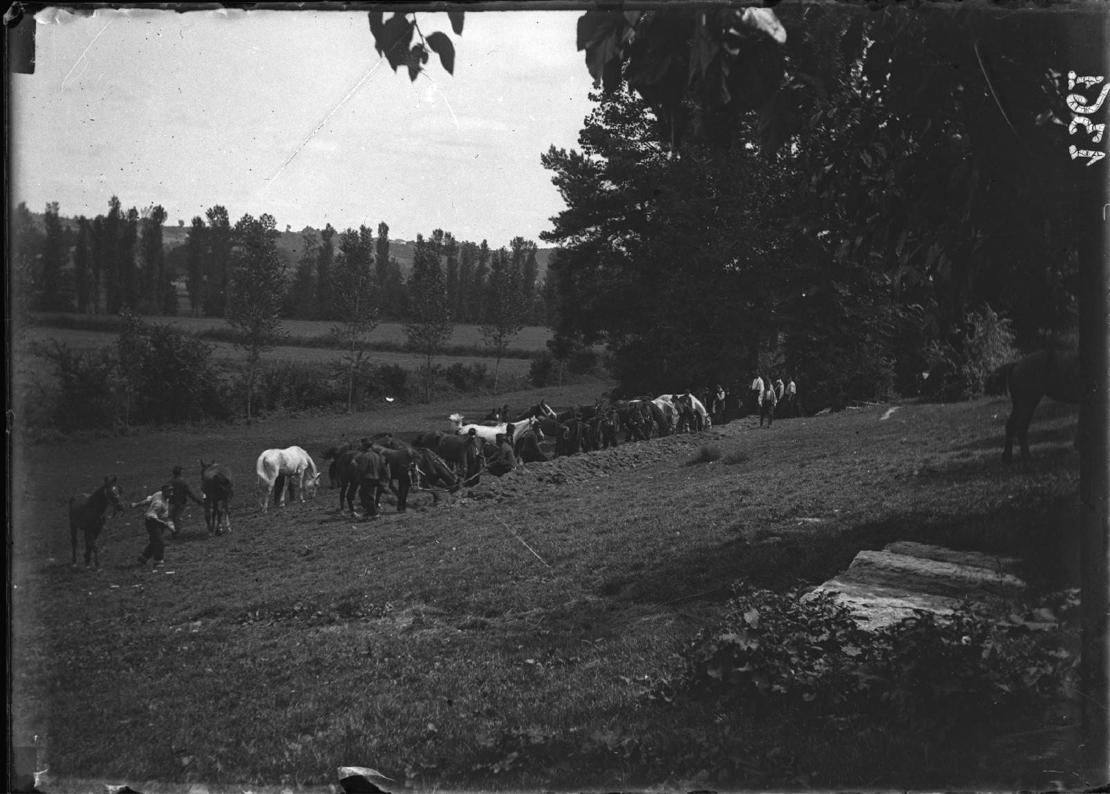 Mobilisation à Montauban en 1914