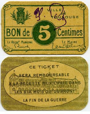 Monnaie de nécessité de Toulouse